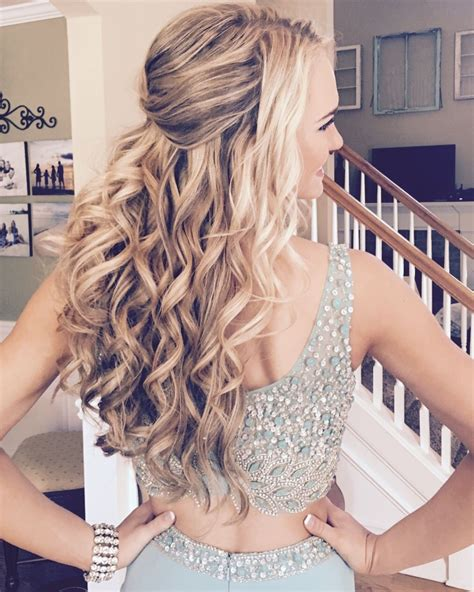 perfect down do formal hair style by formalfaces com
