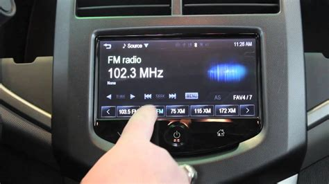 How To Set The Radio Presets In The Chevrolet Sonic And