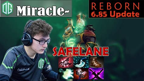 miracle wraith king safelane pro gameplay dota  mmr