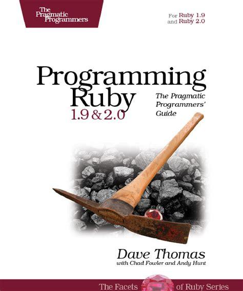 programming ruby    pragmatic programmers
