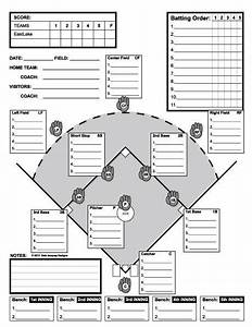 baseball line up custom designed for 11 players useful With baseball position chart template