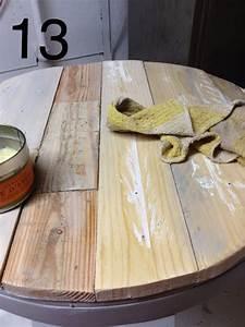 Fabriquer Une Table Basse En Palette : recouvrir une table basse en bois de palette d conome ~ Melissatoandfro.com Idées de Décoration