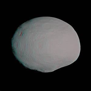 Space Images | Anaglyph of Vesta Model