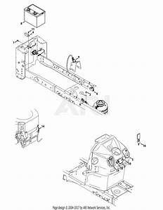 Troy Bilt 13wqa2kw011 Super Bronco 54  2015  Parts Diagram For Electrical