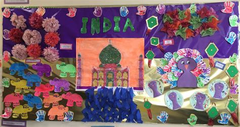 india culture preschool bulletin board ideas
