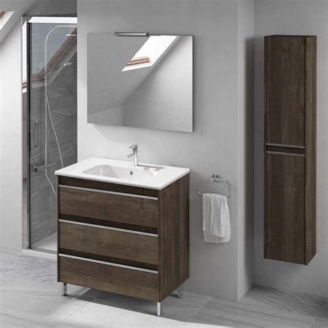 Complete Bathroom Vanities by Ws Bath Collections 80 Pack 1 Samara Ash Complete