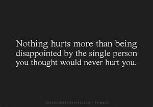 Quotes About Being Disappointed. QuotesGram