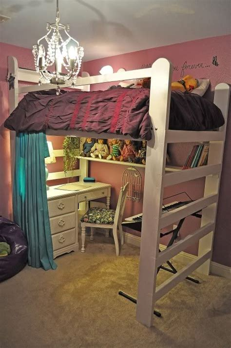 american bunk bed with desk how to build a loft bed with dresser and desk