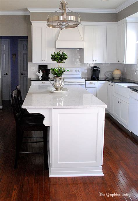 kitchen island molding kitchen renovation reveal giveaway kitchens and ads