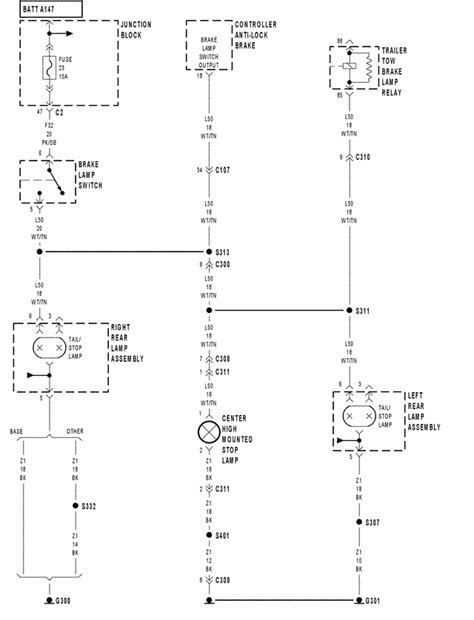 ineed wiring diagram for 2000 jeep grand cherokee rear