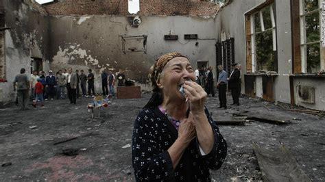beslan siege in pictures