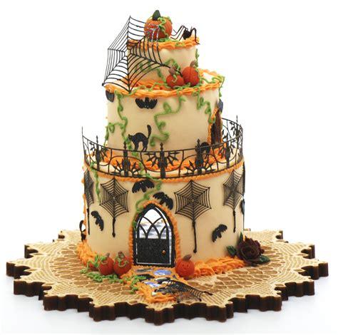 halloween cake house kit    wallpaper