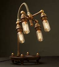 Steampunk Edison Light Globes Lamps
