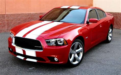 2008 Dodge Charger Racing Stripes