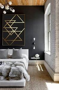 Mur Blanc Et Gris : id es chambre coucher design en 54 images sur chambre complete lustre ~ Preciouscoupons.com Idées de Décoration