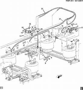 2008 Kodiak C8500 Rear Air Suspension Leveling