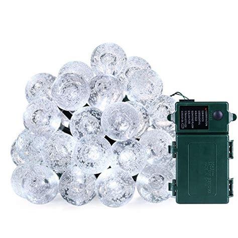 battery operated globe string lights qedertek battery powered globe string lights