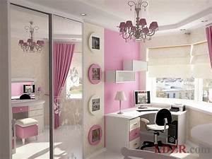 Pink girls bedroom 5 home design and ideas for Kitchen cabinet trends 2018 combined with nappe en papier