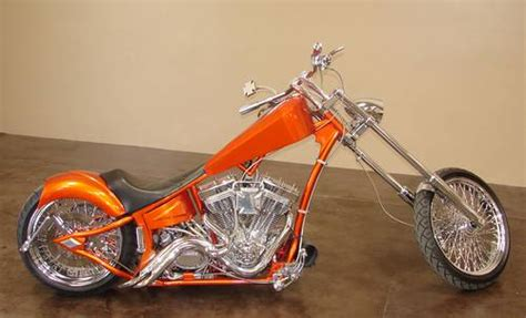 2004 Custom Twisted Metal Chopper 96