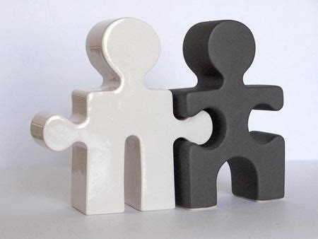 p black  white puzzle people shakers