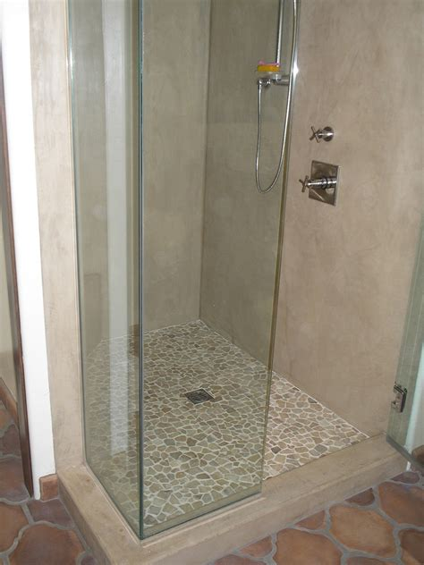Bathroom Shower Walls - everything stucco shower finish