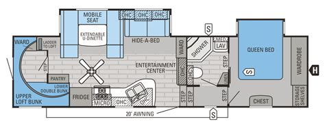 2015 Jayco 5th Wheel Floor Plans by 2015 Eagle Fifth Wheels Floorplans Prices Jayco Inc