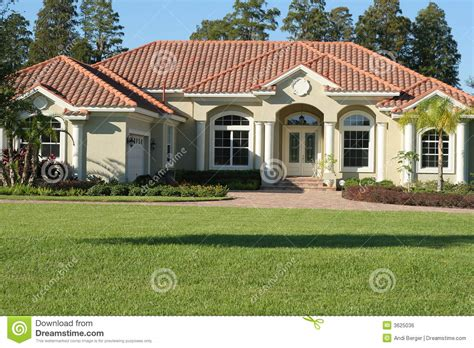 stunning homes with style beautiful mediterranean style home stock photo image