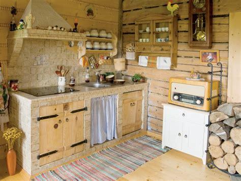 peindre sa cuisine affordable cuisine rustique radio rtro mur en bois