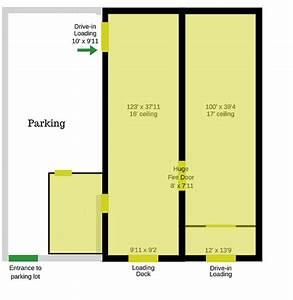 Alley Docking Parking Diagram
