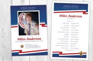 eagle scout ceremony program template boy scout ceremonies eagle flag court of honor invitations ideas