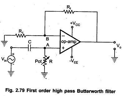 First Order High Pass Butterworth Filter Eeeguide