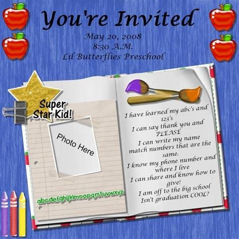 what to say at a preschool graduation preschool graduation poem kid graduations 266