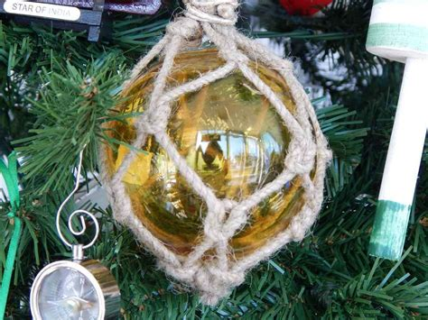 buy glass rope amber fishing float christmas tree