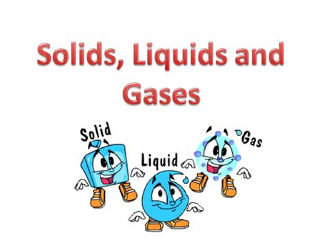 Solids, Liquids And Gases Powerpoint By Jodieclayton  Teaching Resources Tes