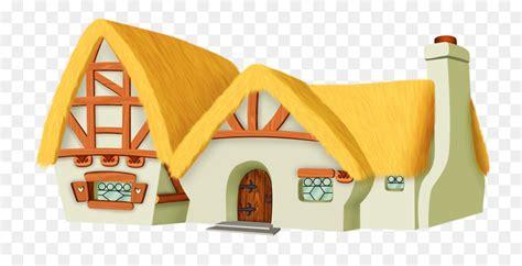 cottage clipart snow white graphics illustrations