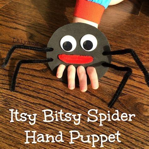 itsy bitsy spider finger puppet lesson plans