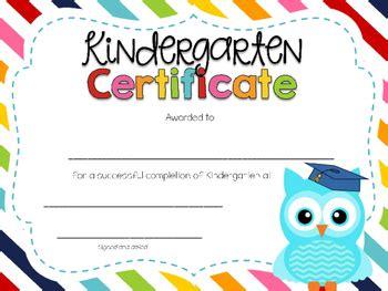 editable kindergarten graduation certificates by 355 | original 2552273 3