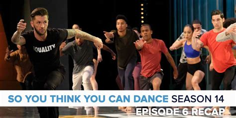 so you think you can 14 episode 6 recap podcast
