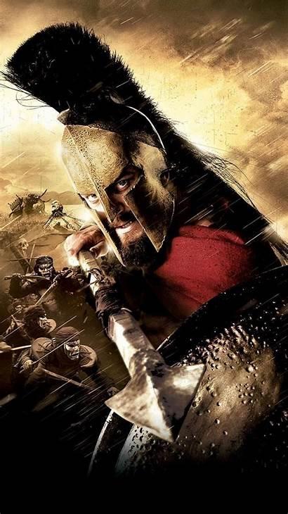 300 Movie Warrior Spartan Leonidas Phone Rise