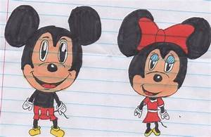 Mickey and Minnie Chibi by Piplup88908 on DeviantArt