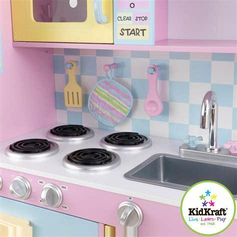 Kidkraft Barnkk Large Pastel Kitchen Litenlekerse