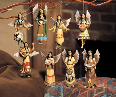 southwest angel christmas ornaments  collections