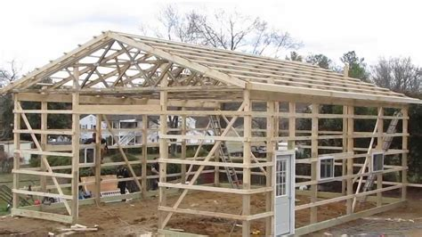 how to build pole shed updates new project my pole barn garage cha pole buildings