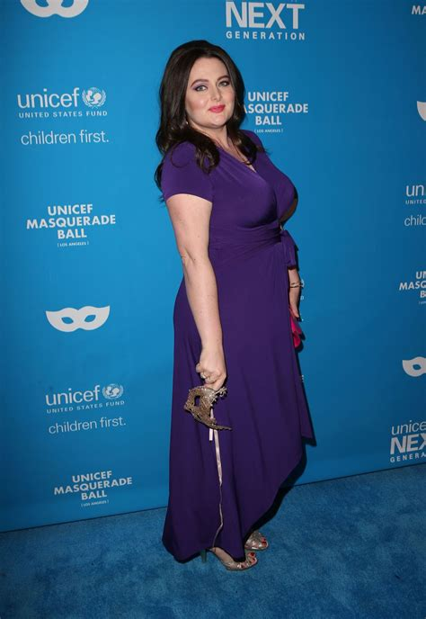 Vanity Email Address by Lauren Ash At 2016 Unicef Masquerade Ball In Los Angeles