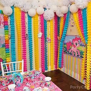 My Little Pony Rainbow Wall Decor Idea - Party City