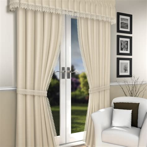 lima chagne crushed lined voile curtains lined voile