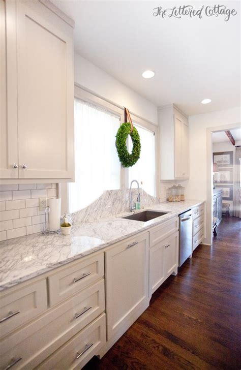 Kitchen Cabinets Biscuit Color by Revere Pewter Cabinets Marble Countertop Kitchthe