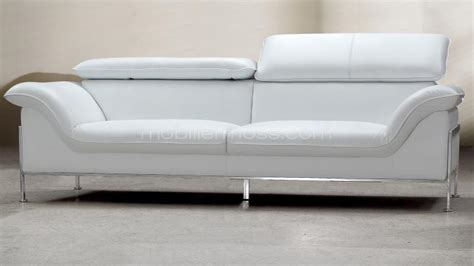 canape 2 places cuir blanc canape design 2 places cuir blanc