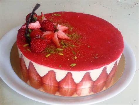 cuisine d hervé deco gateau fraisier