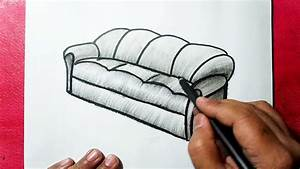 How To Draw A Sofa Like A Pro
